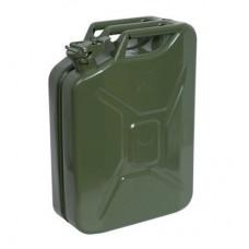 Metal Akaryakıt Benzin Bidonu Renk Yeşil 20LT.