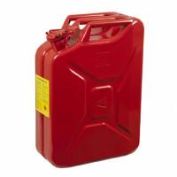 Metal Yakıt Benzin Bidonu Kırmızı 20LT.
