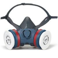 Moldex 7000 Yarım Yüz Maskesi Çift Filtre Takılabilir